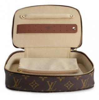 Louis Vuitton Monogram Monte Carlo Soft Case Jewellery Box