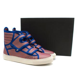 Raf Simons Men's Classic high velcro sneakers