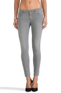 AG Jeans Grey Super Skinny Ankle Jeans