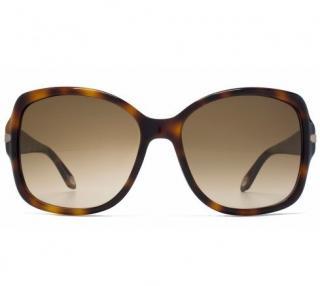 Givenchy SGV897 Tortoiseshell Sunglasses