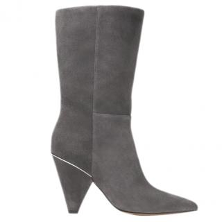Michael Michael Lizzy Suede Mid-calf Boot