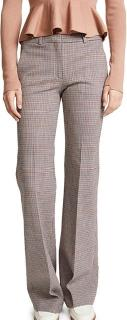 Theory multi check trousers