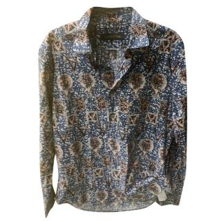 Louis Vuitton patterned men's cotton shirt