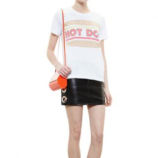 Filles a Papa Hot Dog T-Shirt