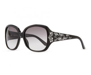 Dior Black Crystal Embellished Dior Minuit F Sunglasses