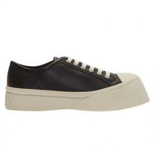 Marni Pablo Sneakers in Black Nappa Leather