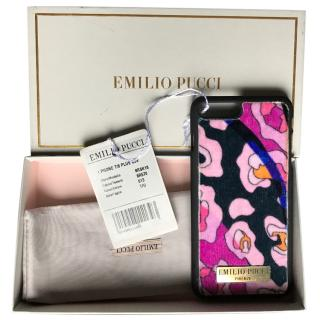 Emilio Pucci Pink Printed IPhone 7/8s Plus Case