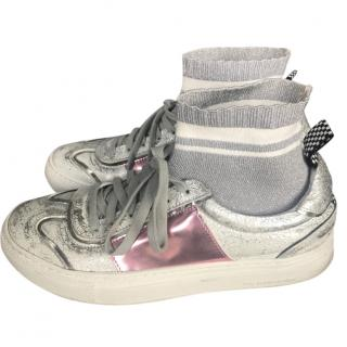 P448 you can surf later high top sneakers