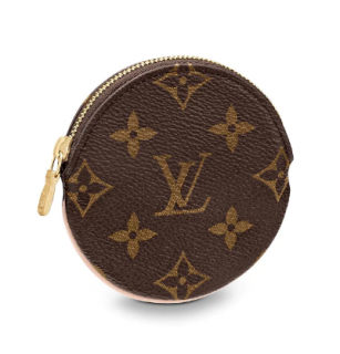 Louis Vuitton Round Coin Purse in Monogram Canvas