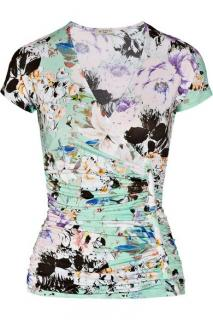 Etro Printed Stretch Jersey Top
