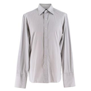 Tom Ford Grey Striped Shirt