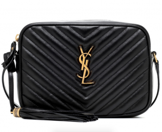 Saint Laurent Chevron Lou Camera Bag