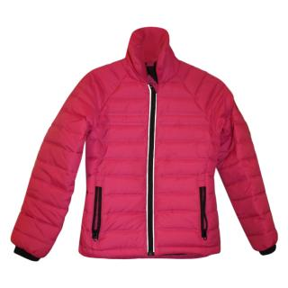 Canada Goose pink duck feather jacket