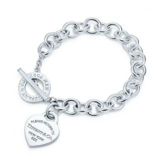 Tiffany Return to Tiffany Heart Tag Toggle Bracelet