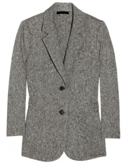 The Row Edith Tweed Cashmere Blazer