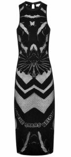 Alice McCall Paint It Black Maxi Dress