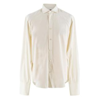 Gieves & Hawkes Cream Shirt