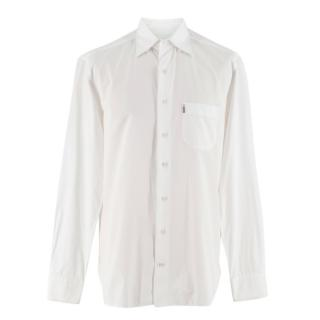Zilli White Spread Collar Men's Shirt