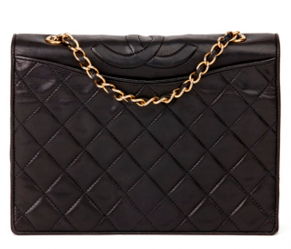 Chanel Vintage Timeless Black Flap Bag