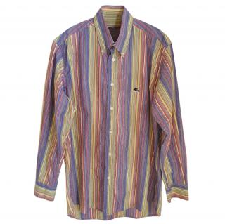 Etro men's striped shirt