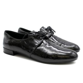 Prada Patent Leather Oxford Shoes