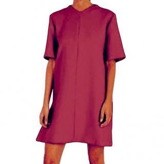 Marni Chilli Red Wool Blend Tunic Dress