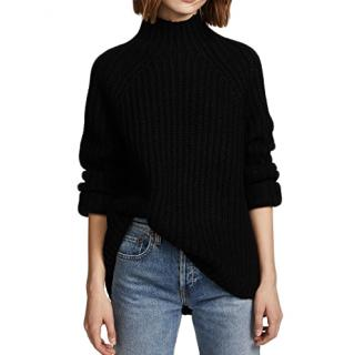 Theory Ribbed Knit Oversize Jumper