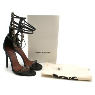 Isabel Marant Rio Chain Link Leather Sandals