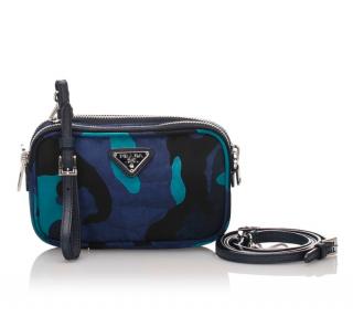 Prada Tessuto Camouflage Crossbody Bag