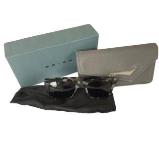 Prism Square Tortoiseshell Sunglasses