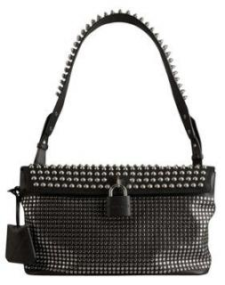 Burberry Brit Rhythm Spikes Studs Hobo Bag