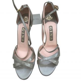 Gina Azura Pewter Sandals