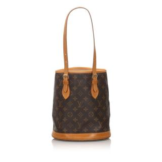 Louis Vuitton Monogram Petit Bucket Bag