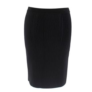 Alexander Wang Black Woven Skirt
