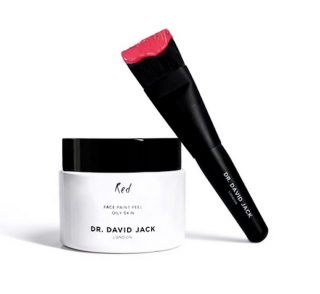 Dr David Jack Red Face Paint Peel & Brush 50ml