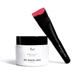 Dr David Jack Red Face Paint Peel & Brush 50ml