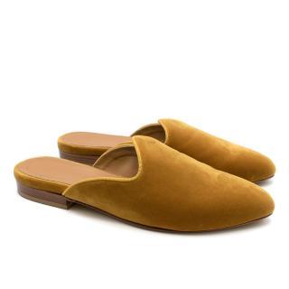 Le Monde Beryl Gold Classic Venetian Slippers