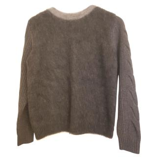 Max Mara Wool & Cashmere Cable Knit Jumper