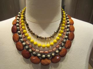 Dryberg/Kern Beaded Choker Necklace