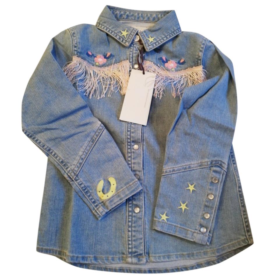 Stella McCartney Kids denim shirt