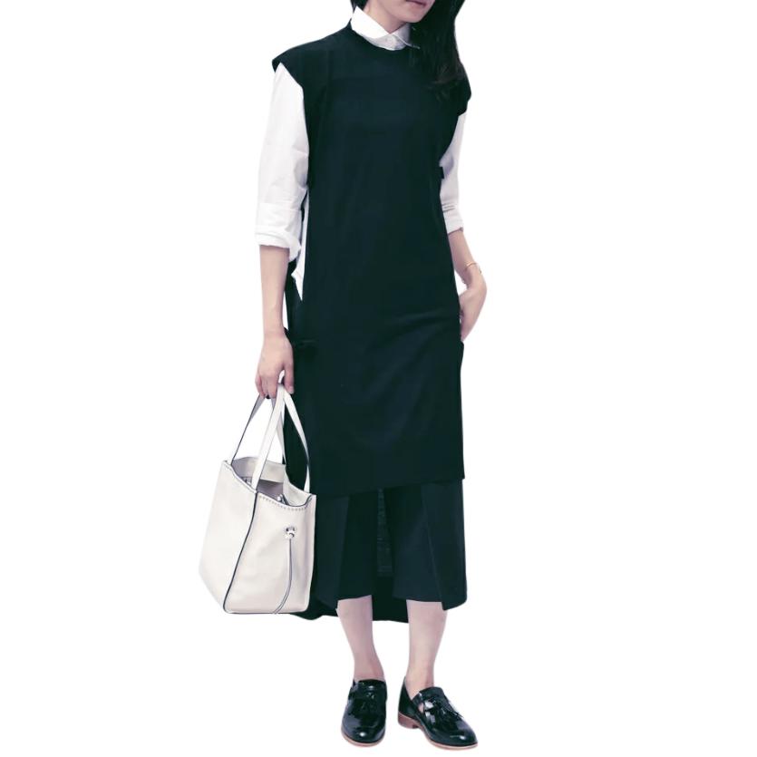 Maison Margiela Green Knit Apron Dress