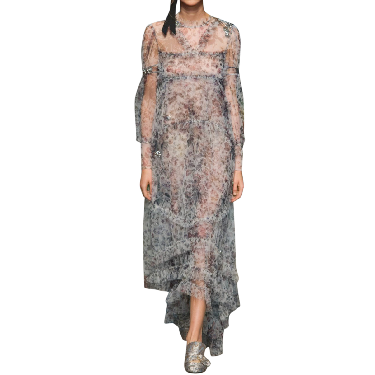 Erdem Lace Tulle Stacey Gown