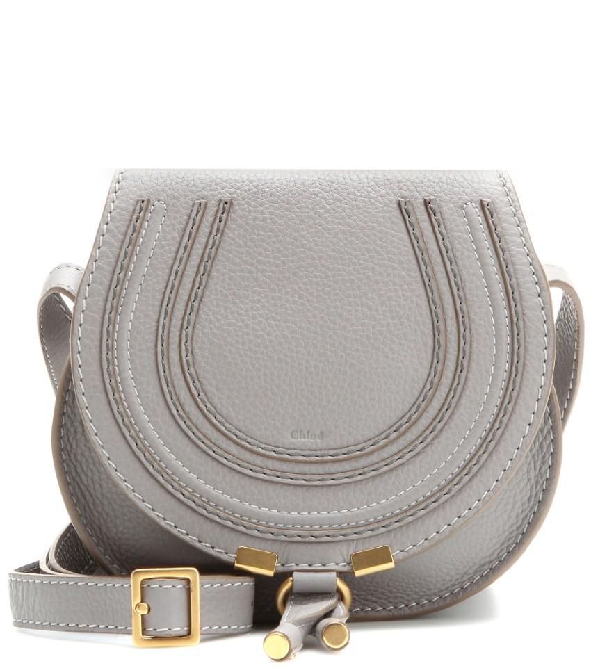 Chloe Cashmere Grey Marcie Bag