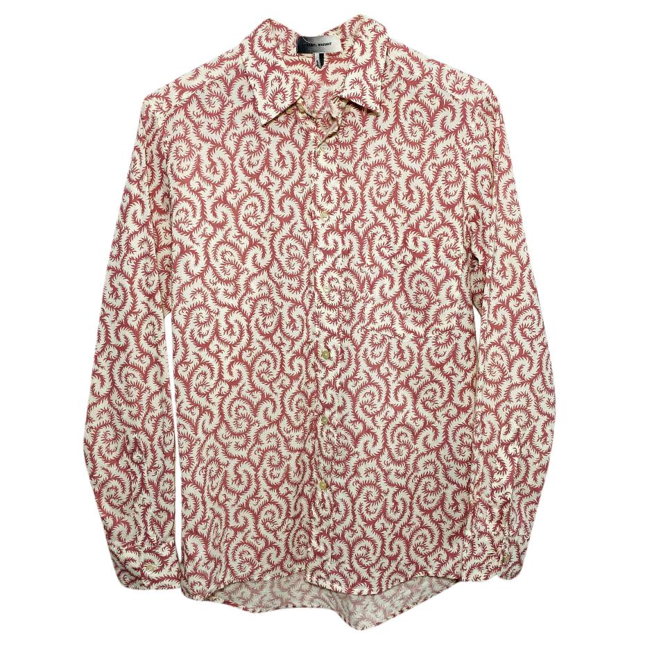 Isabel Marant Printed Men's Shirt