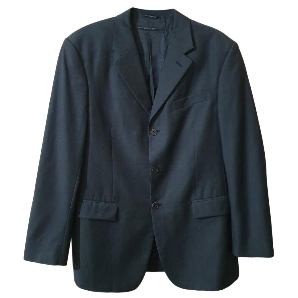Gianfranco Ferre Grey Wool Blazer