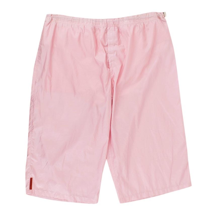 Prada Pink Swim Shorts