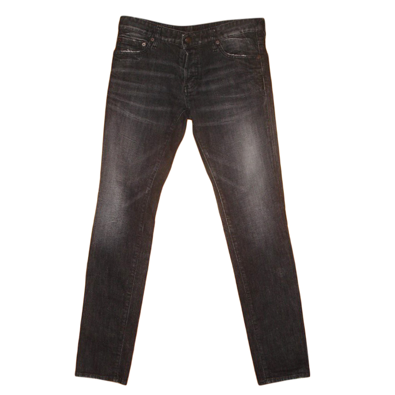 DSquared2 Black Distressed Jeans