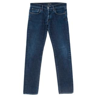 Tom Ford Straight Blue Denim Jeans