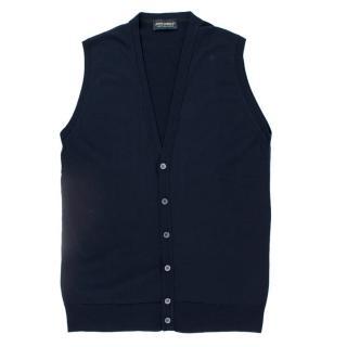 John Smedley Sleeveless Knit Waistcoast