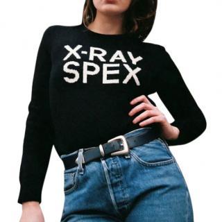 Hades X-Ray Spex Jumper in Black & White